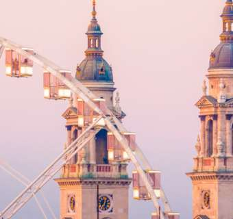 Ferris wheel Budapest