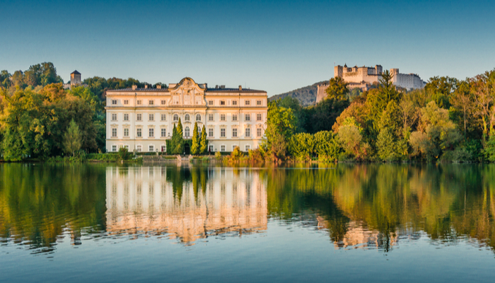Palace in Austria where The Sound of Music was filmed