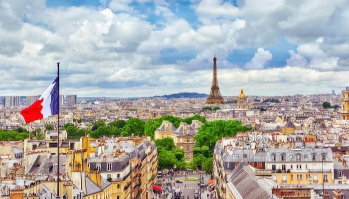 View over Paris buildings