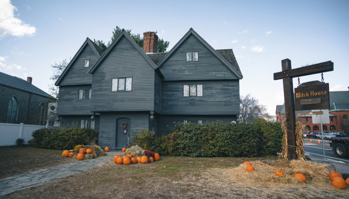 Witch House in Salem